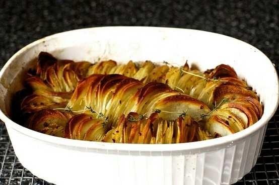 crispy potato roast,