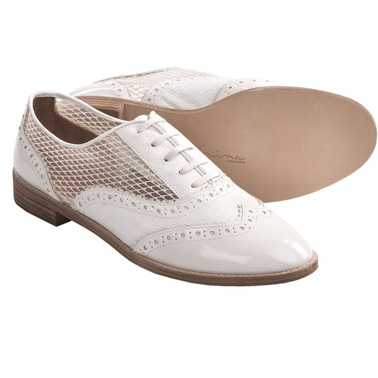 white oxfords shoes women - Google Search