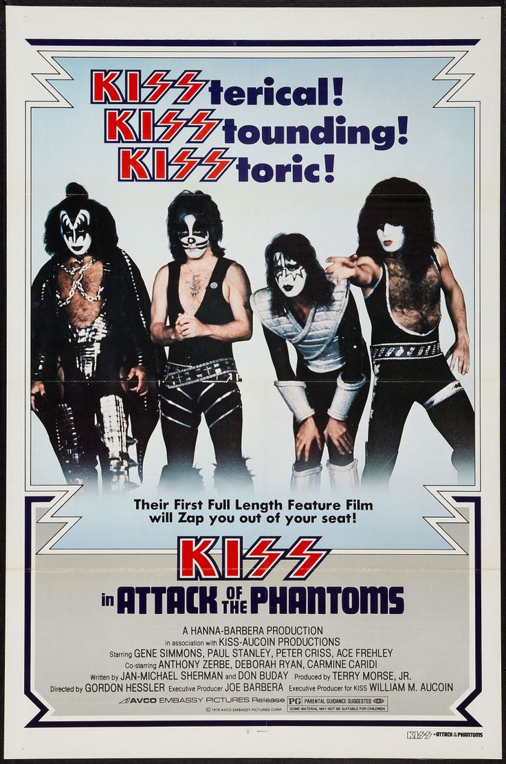 Kiss meets the phantom of the park  videolike