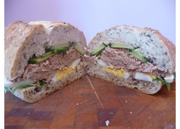 Tuna Nicoise Sandwich... The ingredients for this just got added to my ...