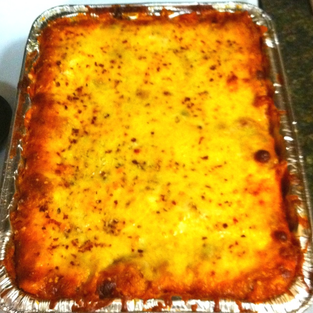 Homemade three meat lasagna | Recipes | Pinterest