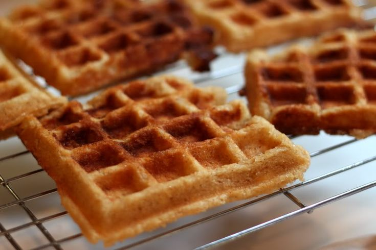 Liege waffles...I saw waffles like this on foodnetwork and they sound ...