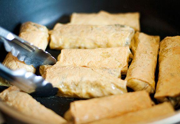 Recipe: bean curd rolls | Epicures ~ E X T R A S... | Pinterest
