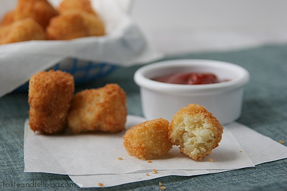 made tater tots.. All you need is mashed potatoes & a few other simple ...