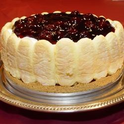 Ladyfinger Cheesecake Allrecipes.com | cheese cakes | Pinterest