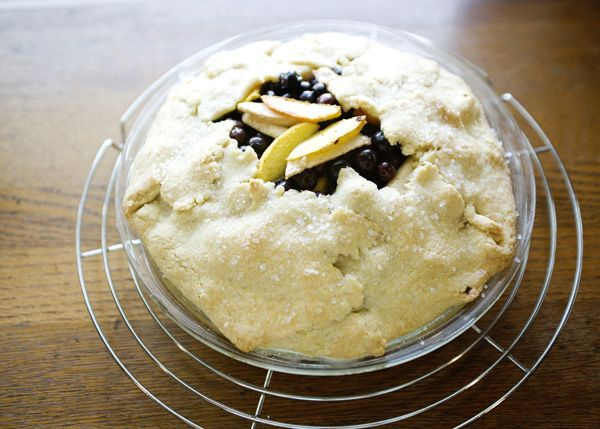 Peach and Blueberry Galette | Recipe