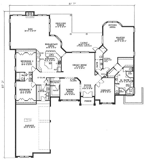 New House Plans | Joy Studio Design Gallery - Best Design