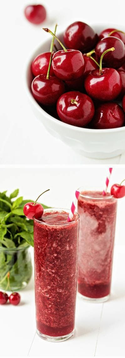 Frozen Cherry Mojitos | Recipes | Pinterest