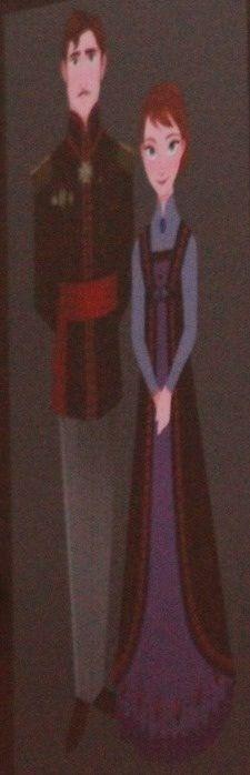 Elsa and Anna's parents(disney's frozen)