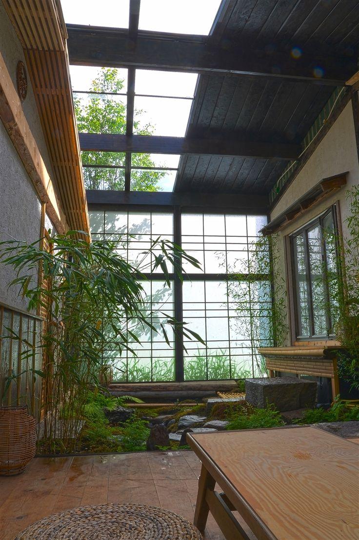 indoor japanese garden