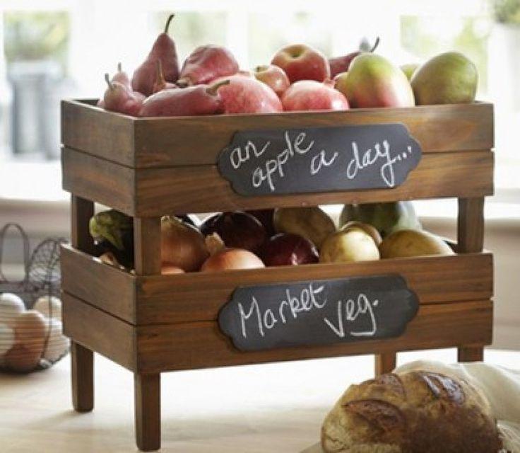 Cajas de frutas verano 13 pinterest - Cajas de fruta de madera para decorar ...