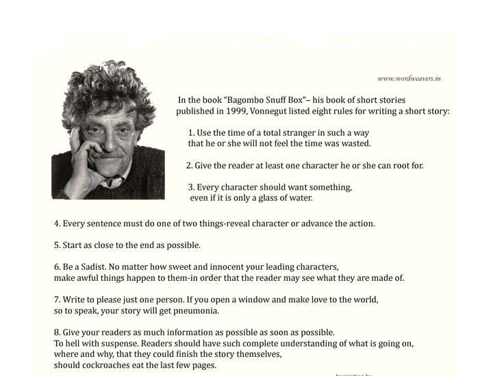 Advice from Kurt Vonnegut that Every Writer Needs to Read