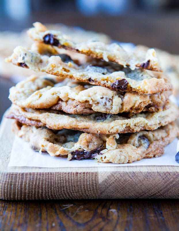 Cornflake-Chocolate-Chip-Marshmallow Cookies - Smores-inspired cookies ...