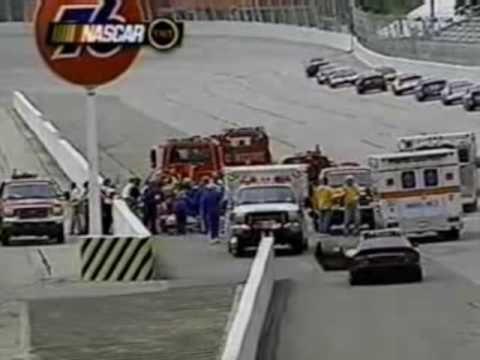 nascar atlanta crash