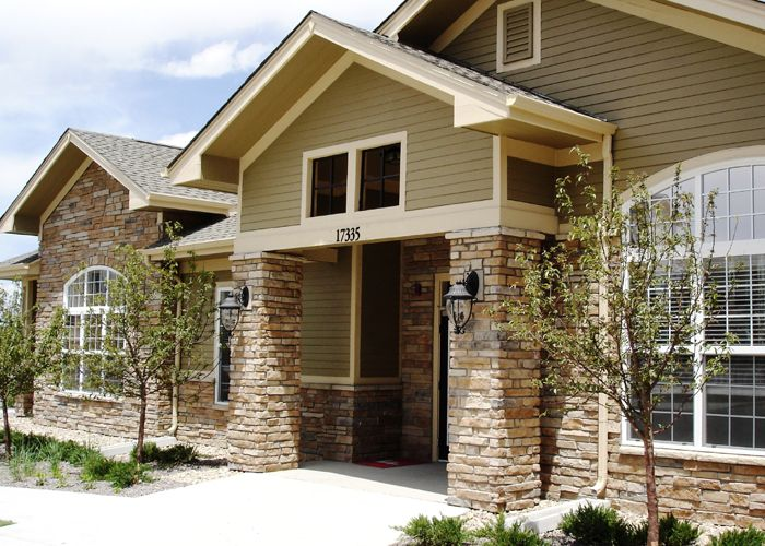 Exterior stone facing home pinterest for Stone faced houses