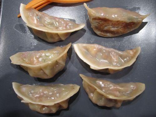 Vegetable Gyoza (Potstickers) | taste buds | Pinterest