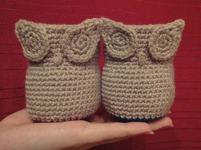 Crochet Owl Basket : Owl Twins by uta.weingarten, via Flickr Crochet Pinterest