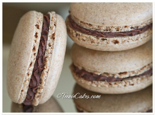 French Chocolate Macaron Recipe — Dishmaps