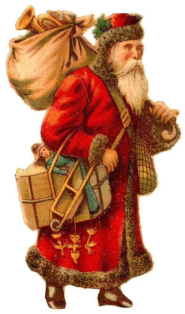 ... Santa Clause | ♥ Vintage Christmas Postcards & Images ♥ | Pin: pinterest.com/pin/473511348295173658