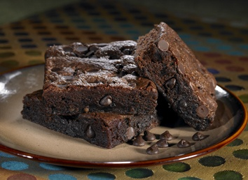Double chocolate chunk brownie by Otis | Otis Spunkmeyer | Pinterest