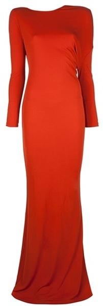 Ooooooooo .. Jessica Rabbit Red gown Backless draped  by  the Amazing British designer Stella MCCartney     dressmesweetiedarling