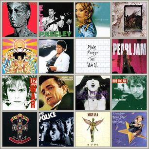 500 greatest albums