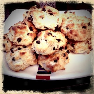 Meyer Lemon and Dried Blueberry Scones | So Delicious | Pinterest