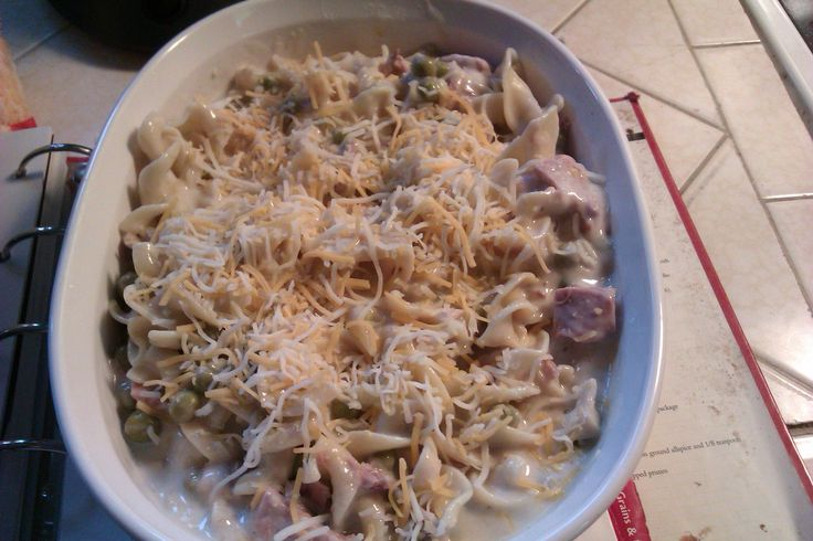 Grown-Up Tuna Noodle Casserole Recipe — Dishmaps