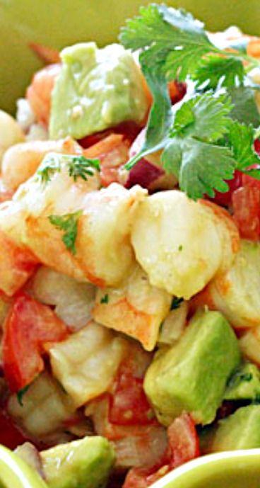 Zesty Lime Shrimp and Avocado Salad | Recipe