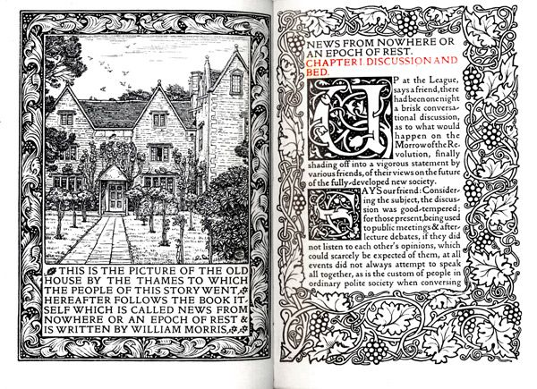 william morris news from nowhere essay
