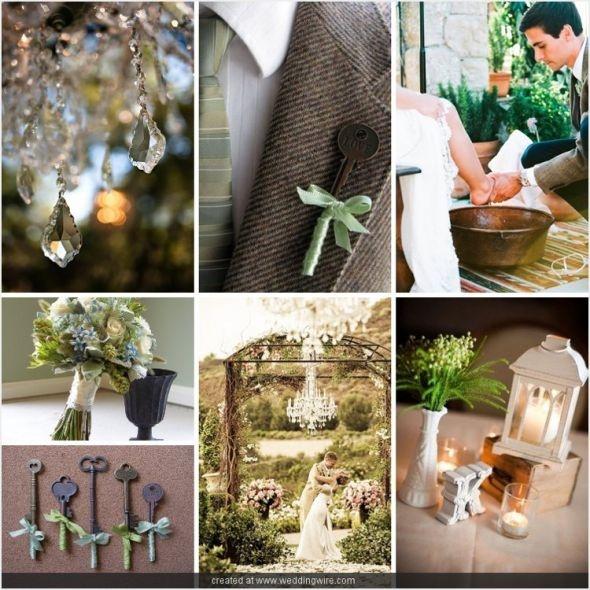 Romantic Garden Wedding Theme: Secret Garden Wedding Theme