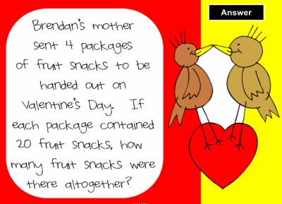 valentine day math games kindergarten
