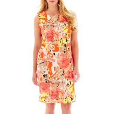 Alyx Sheath Dress Floral