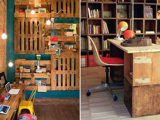 Decoração com materiais recicláveis 29 Materiais recicláveis na decoração