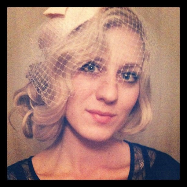Vintage faux finger wave hairstyle | Hair Design by Tara | Pinterest