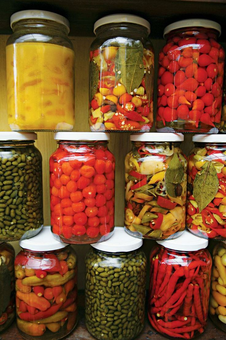 Conserva de Pimenta (Brazilian Pickled Chiles)