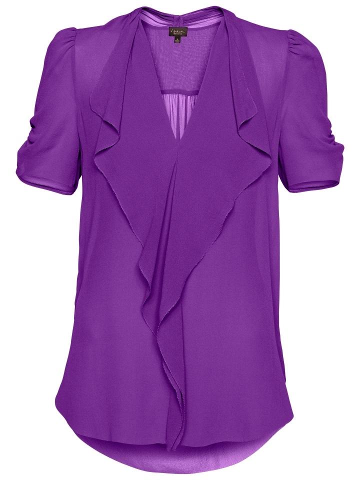 Purple Silk Blouse 73