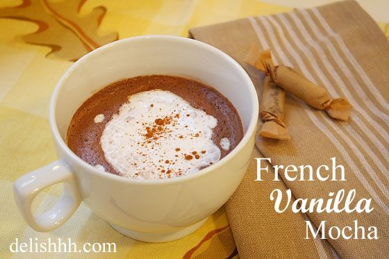for some morning inspiration? Try Ewa's yummy French Vanilla Mocha ...