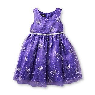Holiday editions girl s infant amp toddler sleeveless party dress from
