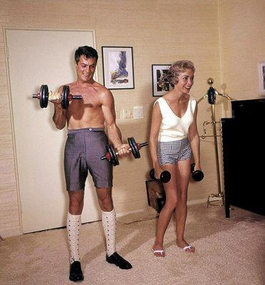 Home fitness back in the day!