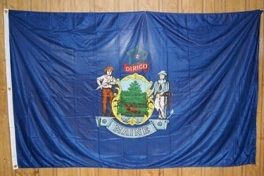 the state flag of maine