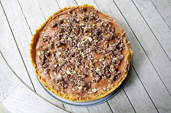 No Bake Nutella Cheesecake....Sounds ahhhmazing!