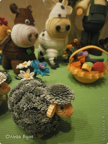 fringed sheep | Quilling | Pinterest