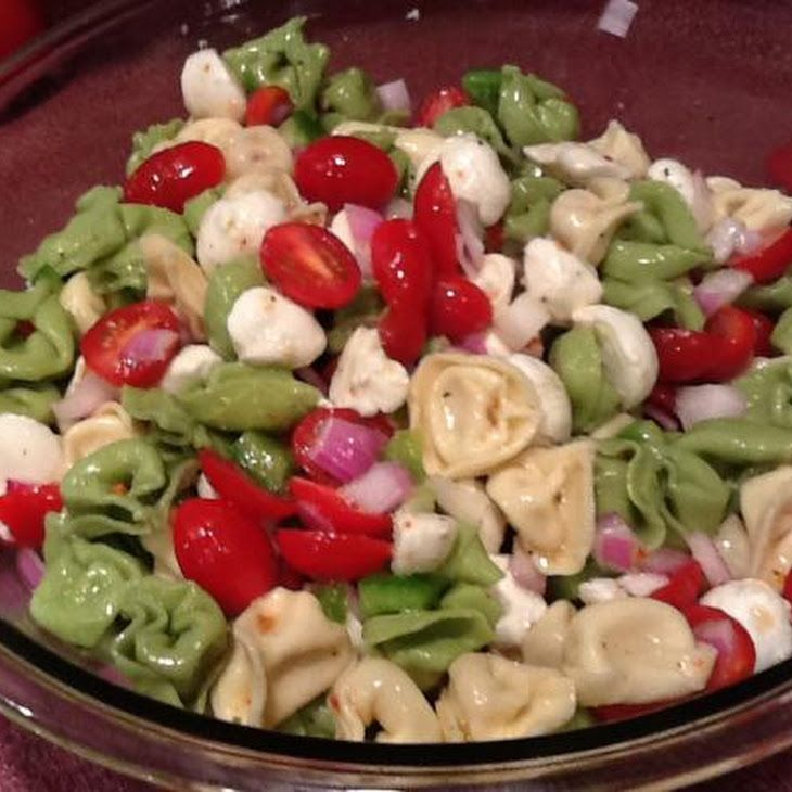 Tortellini Antipasto Salad Recipe | foooooooood