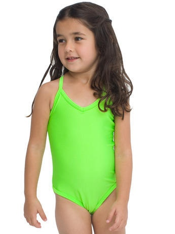 rad neon swimsuittoo cute for little girls for my