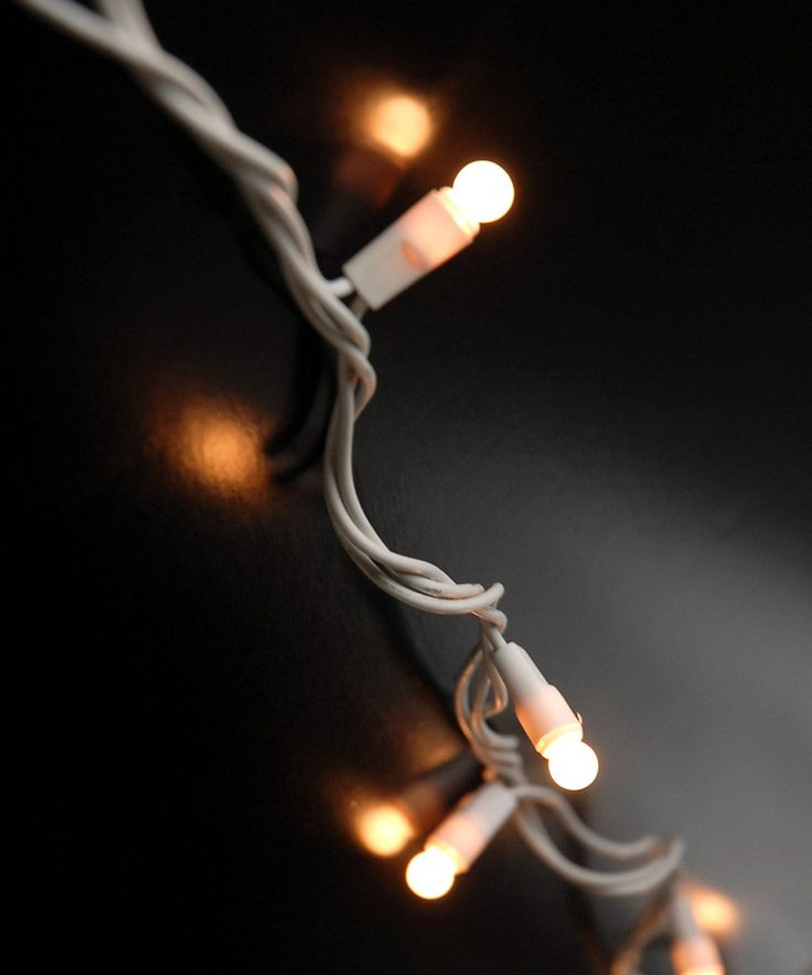 Pearl White Mini Globe String Lights For the Home Pinterest