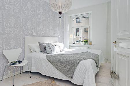 Un dormitorio muy relajante