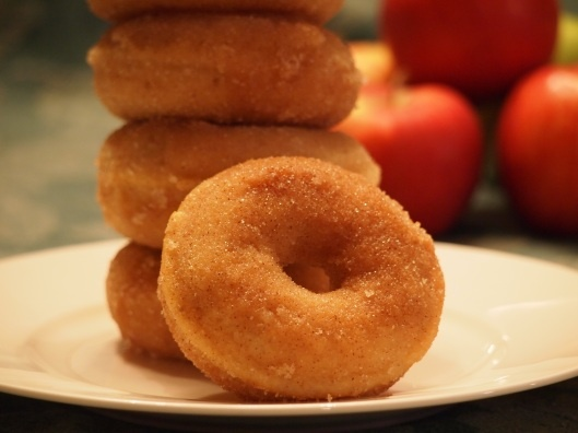 baked apple cinnamon doughnuts | What the fruck should I make for des ...