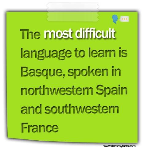 Is Basque the most difficult language? - Quora