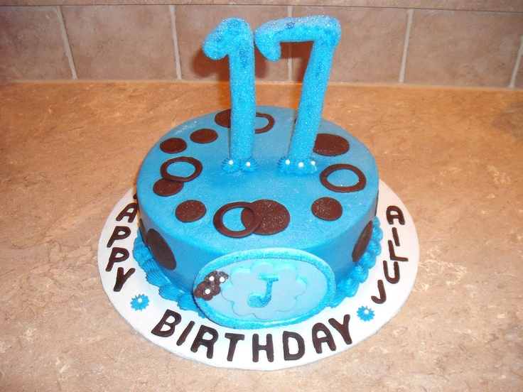 Happy 17th Birthday Cake | For the One | Pinterest
